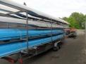 Die Boote für die Regatta in Bramsche.