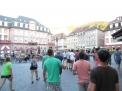 Auf dem Marktplatz.