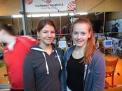 Erfolgreich bei den Mädchen der Jahrgänge 2003 bzw. 2002: Victoria Wenzel und Carolin Brüggenolte.