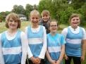 Der Mädchenvierer des Jahrganges 2004 und jünger war zum ersten Mal auf einer überregionalen Regatta am Start und gewann auf Anhieb.