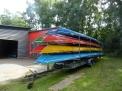 Einer der beiden Bootshänger am Bootshaus.