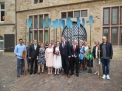 Die Hochzeitsgesellschaft mit den Ruderern.