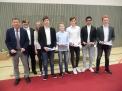 """Der WKIII-Jungenvierer erhielt Silber für den 3. Platz beim Bundesfinale """"JtfO""""."""