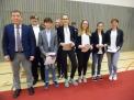"""Der WKIII-Mädchenvierer erhielt Silber für den 3. Platz beim Bundesfinale """"JtfO""""."""