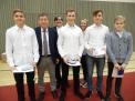 Der WKIV-Jungenvierer erhielt Bronze für drei Landesmeistertitel.