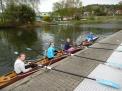 Die Mädchen des Jahrganges 2005 werden von Frau Sothmann (FSG Preetz) trainiert.