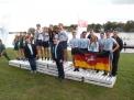 Siegerehrung für die  WKII-Jungen im Gig-Vierer.
