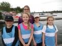 Die Mädchen der 5. Klasse waren erstmals am Start.
