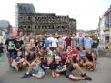 Gruppenfoto in Trier.