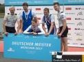 Deutscher Meister im Vierer mit Steuermann (Paul ganz links).