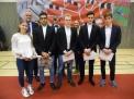 """Der zweite WKII-Jungenvierer erhielt Silber für den 3. Platz beim Bundesfinale """"JtfO""""."""