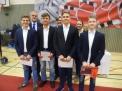 """Der WKIII-Jungenvierer erhielt Silber für den 2. Platz beim Bundesfinale """"JtfO""""."""