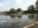 Auf der Weser bei Bad Karlshafen.