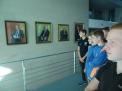 Die Galerie der Bundeskanzler in der ersten Etage.