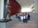 Gruppenfoto im zentralen Treppenhaus.
