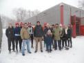 Gruppenfoto mit den Ruderkameraden vom WSV Herne.