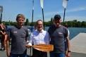 Gunther Sack, Grant Hendrik Tonne und Peter Tholl.