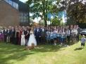 Die Hochzeitsgesellschaft.