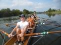 Auf der Weser in Beverungen.