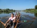 Auf der Weser in Emmerthal.