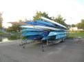 Die Caro-Boote für die Regatten in Hannover.