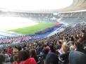 Das niedersächsische Team beim Einmarsch in das Olympiastadion.