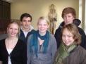 Von links: Antonia Drees, Lukas Wilm, Imke Wissing, Lukas Hafer und Paula Niehoff.