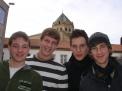 Matthias Vollmer, Lennard Henke, Hendrik Onnenga und Tim Eichmeyer.