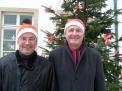 Schulleiter Helmut Brandebusemeyer und Protektor Peter Tholl.