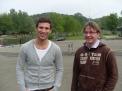 Sie freuen sich auf das Achterrennen am Sonntag: Hendrik Onnenga und Matthias Vollmer.