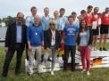 Siegerehrung für den Vizebundessieg des WKII-Jungen.