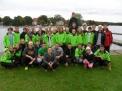 Die Teilnehmer aus Osnabrück und Bramsche mit ihren Trainern.
